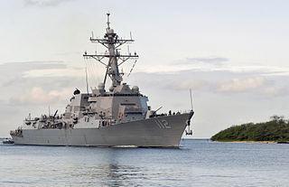 USS <i>Michael Murphy</i> American Arleigh Burke-class destroyer