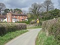 The lane to the pub - geograph.org.uk - 750735.jpg