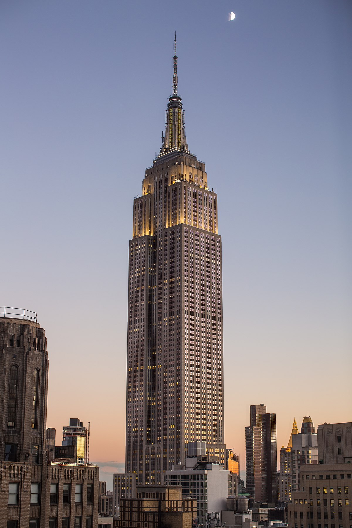empire state building wikip dia a enciclop dia livre. Black Bedroom Furniture Sets. Home Design Ideas