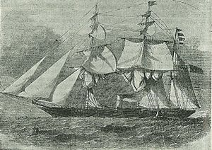 Early naval vessels of New Zealand - The steam sloop HMCSS Victoria