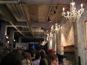 Theatre de la Jeune Lune - The interior of the building