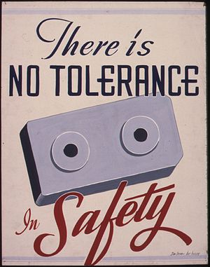 There is no tolerance in safety - NARA - 535341.jpg