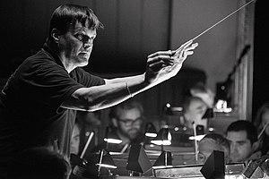 Christian Thielemann - Christian Thielemann rehearsing at Vienna State Opera, 2015