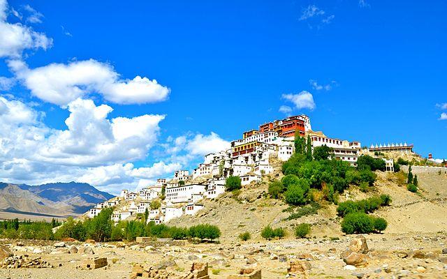 Visitar Leh - Monasterio Thiksey