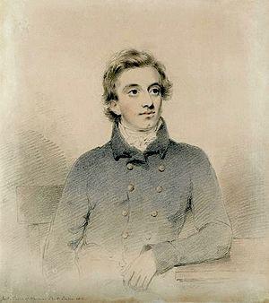 Thomas Foster Barham (physician) - Barham by Joseph Slater, Jr., 1816