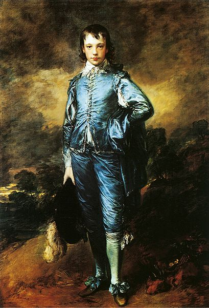 Image result for the blue boy thomas gainsborough 1770