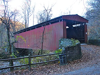 Chestnut Hill, Philadelphia - Thomas Mill Covered Bridge