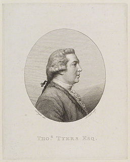 Thomas Tyers English writer