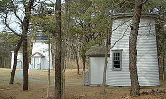 Eastham, Massachusetts - The Three Sisters Lights, North Eastham, 2005