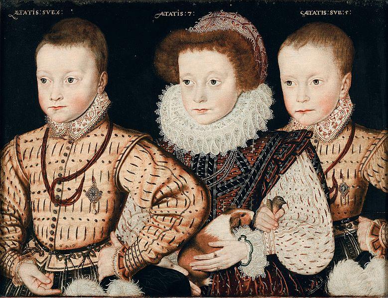 File:Three Unknown Elizabethan Children.jpg