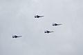 Thunderbirds Lockheed-Martin F-16C Fighting Falcons Diamond Setup SNF 16April2010 (14443802008).jpg