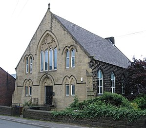 Thurlstone - Image: Thurlstone Wesleyan Church