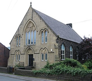 Thurlstone Village in South Yorkshire, England