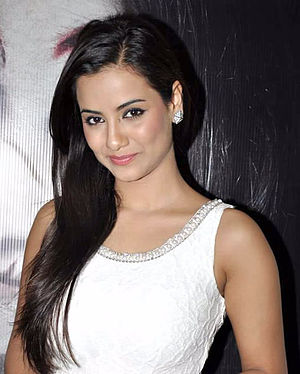 Tia Bajpai - Bajpai at the promotion of 1920: The Evil Returns in 2012