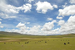 Seni District District in Tibet, Peoples Republic of China