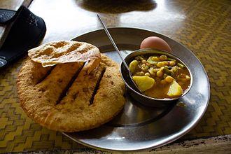 Tibetan cuisine - A simple Tibetan breakfast