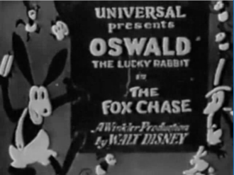 The Fox Chase - Title card.