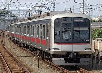 Tōkyū Meguro Line - Tokyu 5080 series EMU on the Meguro Line