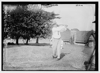 Baltusrol Golf Club - Tom McNamara at the 1915 U.S. Open
