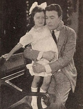 Alice Joyce - Husband Tom Moore with the couple's daughter, Alice (1920)