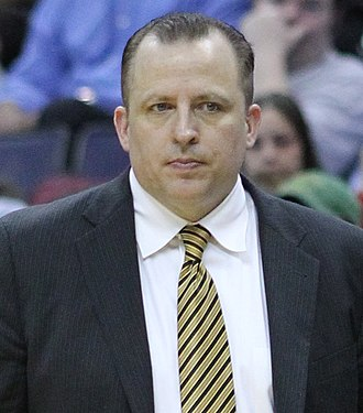 NBA Coach of the Year Award - Image: Tom Thibodeau cropped