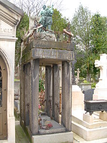 Tomb of the Pezon family, Père Lachaise Cemetery, Paris, France - 20080319-01.jpg