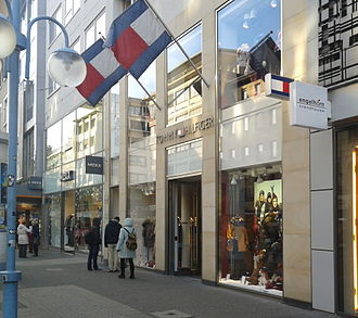 Tommy Hilfiger (company) - A Tommy Hilfiger storefront in Germany