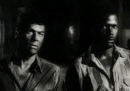 Tony Curtis en Sidney Poitier in The Defiant Ones