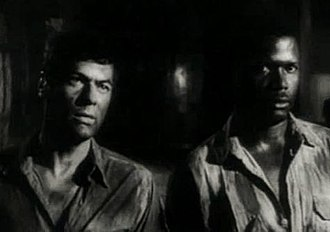 The Defiant Ones - Tony Curtis and Sidney Poitier in the trailer for the film
