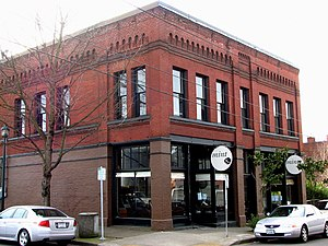 Albina, Oregon - The Frederick Torgler Building was built in 1894 in the city of Albina