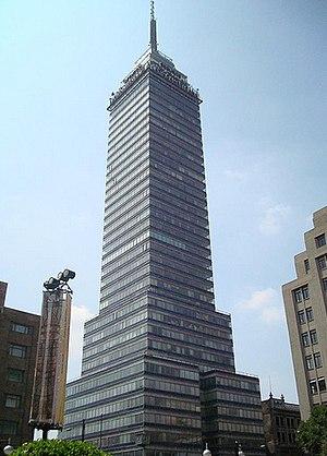 Torre Latinoamericana - Torre Latinoamericana in July 2012
