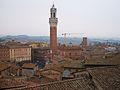 Torre del Mangia des del facciatone, Siena.JPG