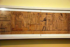 Book of the Dead of Nehem-es-Rataui - Judgement of the dead