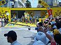 Tour de France - Etape 4 - Montpellier - Avant le départ de l'équipe Astana by Mikani.JPG