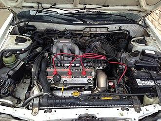 Toyota VZ engine - Image: Toyota 2VZ FE engine