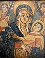 Tríptico etíope. Detalle de la Virgen con el Niño.JPG
