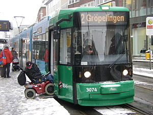 Trams in Bremen - GT8N