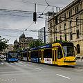 Tram in Budapest (10889528356).jpg