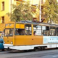 Tram in Sofia near Macedonia place 2012 PD 088.jpg