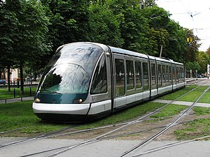 Eurotram - The Eurotram was first used in Strasbourg