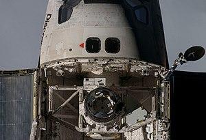 TriDAR - TriDAR during STS-128