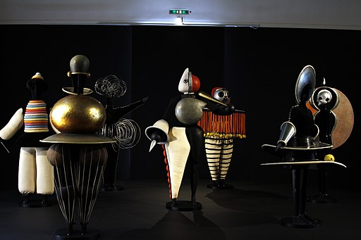 Triadisches Ballett by Oskar Schlemmer - Staatsgalerie - Stuttgart - Germany 2017
