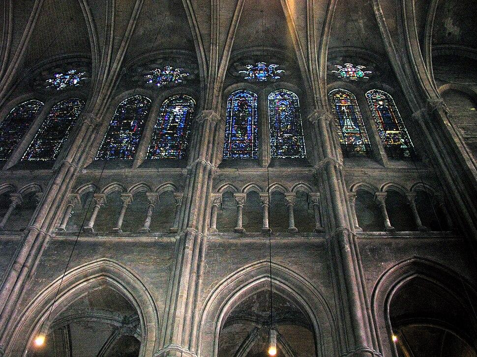 Triforium Chartres