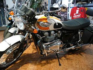 Triumph Bonneville T100 British motorcycle