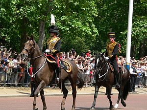 King's Troop, Royal Horse Artillery