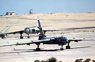 Tupolev Tu-16 - Egyptian Tu-16s (1980)
