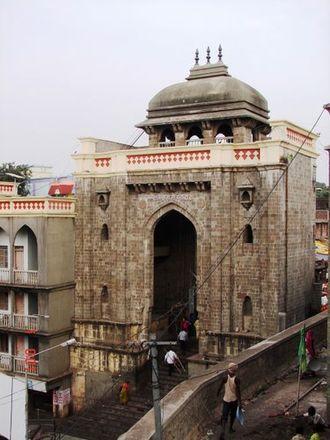 Tulja Bhavani Temple - Main entrance gate