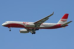 Tupolew Tu-204-100 der Red Wings Airlines