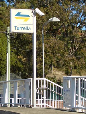 Turrella, New South Wales - Image: Turrella Station 4