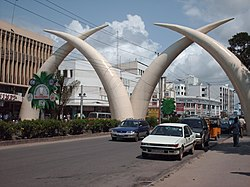 Tusks in Mombasa